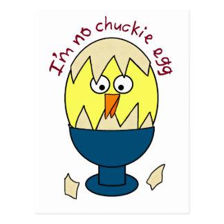 No soy ningún humor del huevo de Chuckie Postal