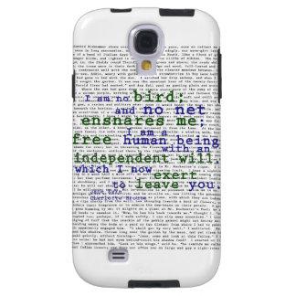 No soy ningún pájaro - Jane Eyre Funda Galaxy S4