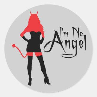 No soy ningún pegatina del ángel