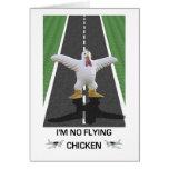 No soy ningún pollo del vuelo felicitación