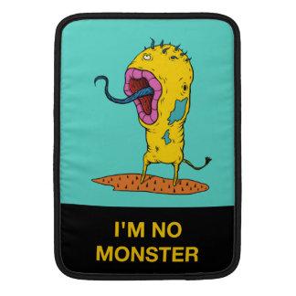 No soy ninguna manga 1 del iPad del monstruo Funda MacBook