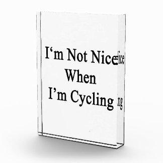 No soy Niza cuando estoy completando un ciclo