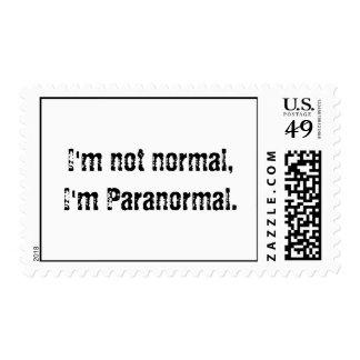 No soy normal, yo soy paranormal franqueo