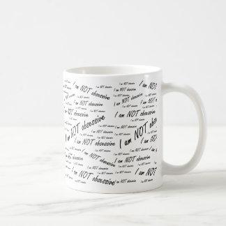 'No soy obsessive Taza De Café
