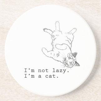 No soy perezoso yo soy un gato posavasos manualidades
