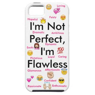 No soy perfecto… Caso de Iphone 5/5s Funda Para iPhone SE/5/5s