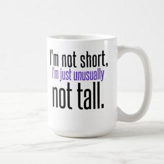 No soy taza de café corta