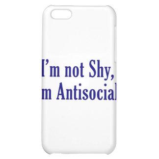 No soy tímido - soy antisocial