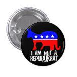 No soy un botón de Republikrat Pins