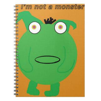 No soy un cuaderno del monstruo
