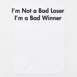 No soy un mún perdedor que soy una mala manta del  mantas de bebé