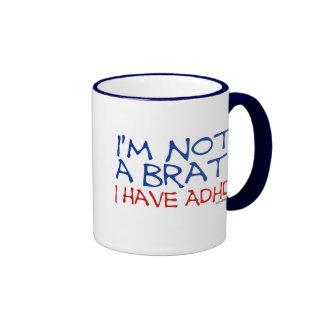 ¡No soy un palo de golf! Tengo ADHD Taza De Dos Colores