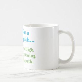No soy un psicópata… taza de café