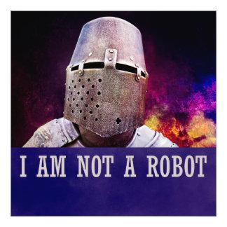 No soy un robot fotografía