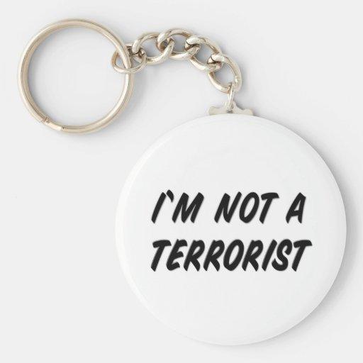 No soy un terrorista llavero