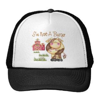 No soy un vegano de la hamburguesa/un gorra/un cas