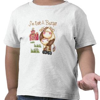 No soy un vegano de la hamburguesa/una camiseta