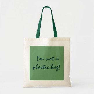 ¡No soy una bolsa de plástico! - tote