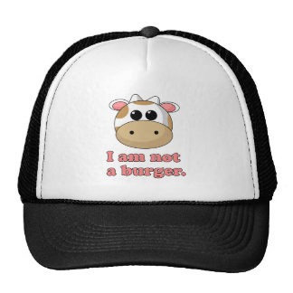 No soy una hamburguesa gorro de camionero