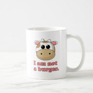 No soy una hamburguesa taza de café