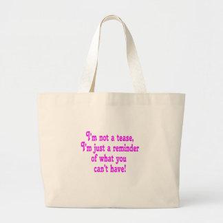 No soy una tomadura de pelo bolsa de mano