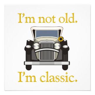 No soy viejo Soy clásico Comunicado Personal