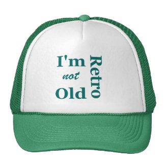 No soy viejo yo soy casquillo retro de los camione gorro