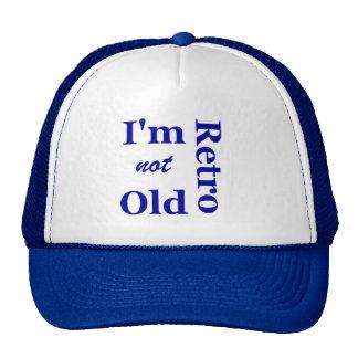 No soy viejo yo soy casquillo retro de los camione gorros