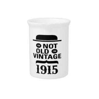 No soy viejo, yo soy el vintage 1915 jarrones