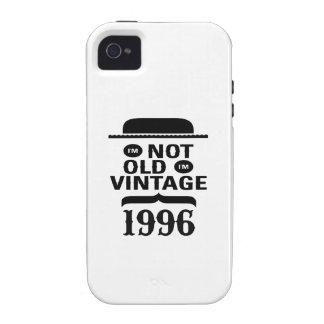 No soy viejo, yo soy el vintage 1996 iPhone 4/4S funda