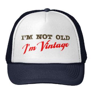 No soy viejo, yo soy vintage (la escritura) gorro