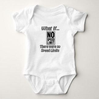 No Speed Limit Baby Bodysuit