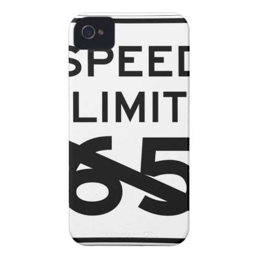 NO SPEED LIMIT IPHONE CASE iPhone 4 Case-Mate CASE