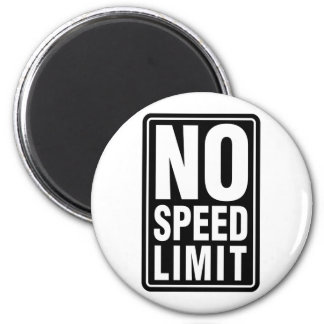 No Speed Limit Magnets