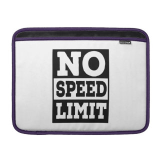 No Speed Limit Sleeve For MacBook Air