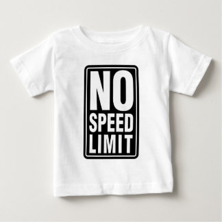 No Speed Limit T Shirt