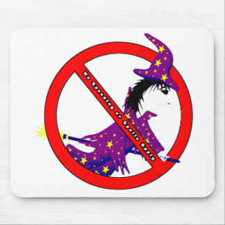 No Speeding or Spells Apply Mouse Pad
