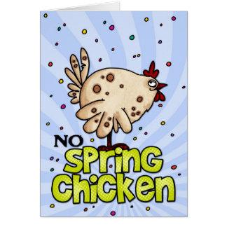 no spring chicken cards