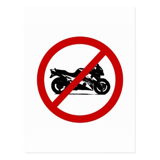 no-sprotbikes postcard