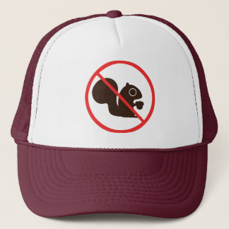 No Squirrels Trucker Hat