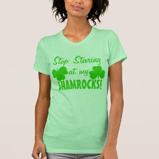 No Staring at my Shamrocks Tshirt