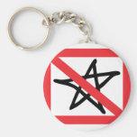 No Stars Keychains