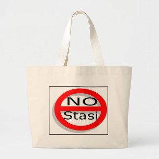 No Stasi Canvas Bag