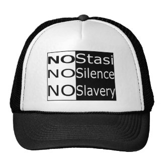 No Stasi, No Silence, No Slavery Trucker Hat