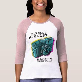 No Stinkin' Pixels Tee Shirt