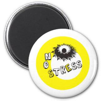 NO STRESS 2 INCH ROUND MAGNET