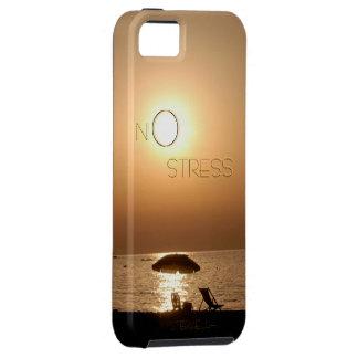 """NO stress"" by mysteryella iPhone SE/5/5s Case"