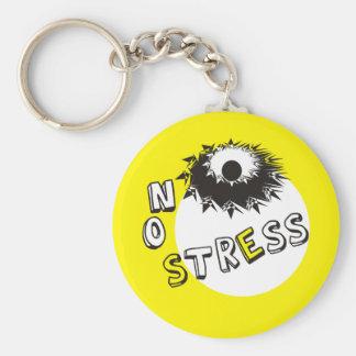NO STRESS KEYCHAIN