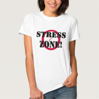 NO STRESS ZONE T-shirt, w/ Scripture Tee Shirt