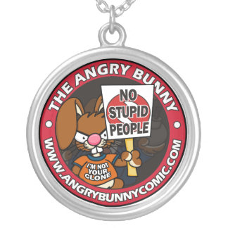 No Stupid People Necklace